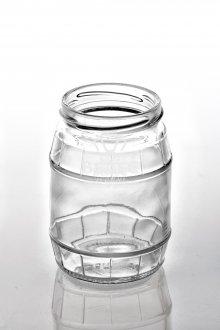 Винтовая стеклобанка Твист «Бочонок» 350 мл ТО-66