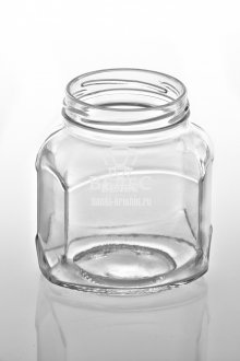 Винтовая стеклобанка Твист «Шестигранник» 360 мл ТО-66