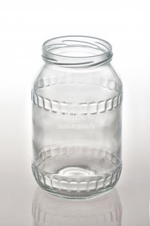 Винтовая стеклобанка 950 мл ТО-82