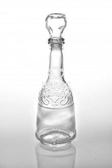 "Бутылка-графин стеклянный ""Узоры"" 0,5 л"