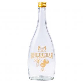 """Бутылка 0,5л. с декором """"Вишневая"""""""