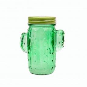Кружка Кактус 450мл, зеленая