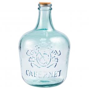 """Бутылка Стеклянная 12л, """"CABERNET"""" с пробкой"""