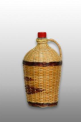"""Бутылка """"Ровоам"""" 4,5 л с плетением"""