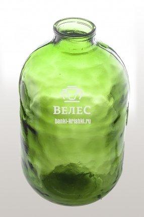 Бутыль 10 л СКО Зеленая