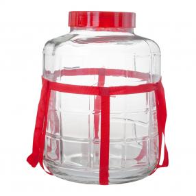 Бутыль c гидрозатвором 25 л. в ассортименте