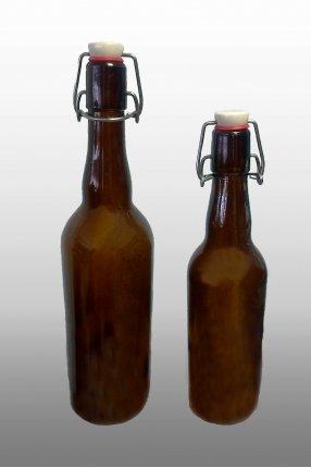 Бутылка с бугельной пробкой 0,5, 075 мл.