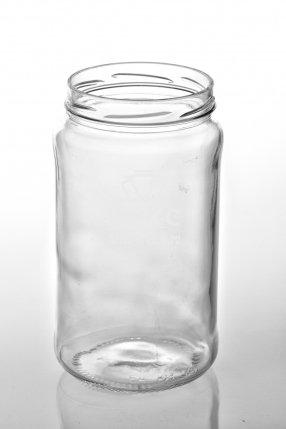 Винтовая стеклянная банка 1,5 л ТО-100
