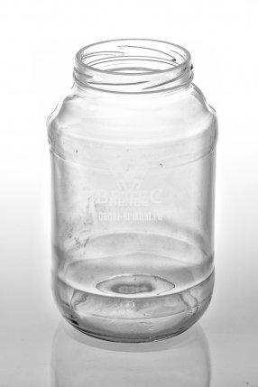 Винтовая стеклянная банка 1,5 л ТО-82