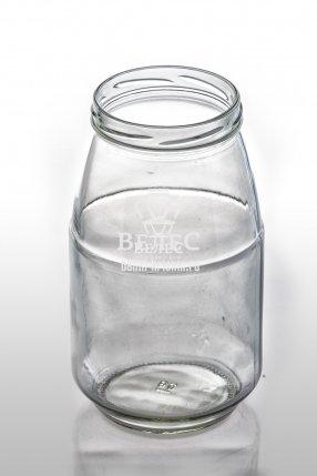 Винтовая стеклянная банка 1,5 л ТО-89