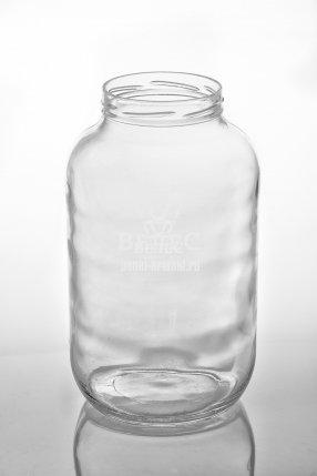 Винтовая стеклобанка Твист 4,25 л ТО-100