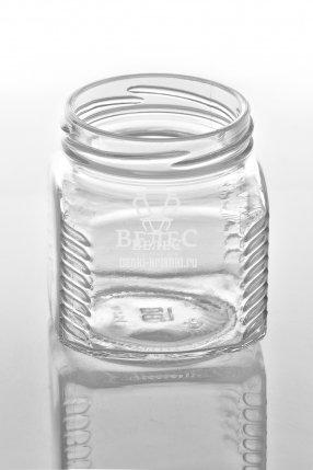 Стеклянная банка Твист «Кубик» 250 мл ТО-66