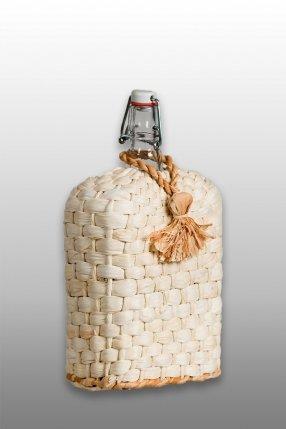 """Бутылка """"Викинг"""" 1,75 л с плетением"""
